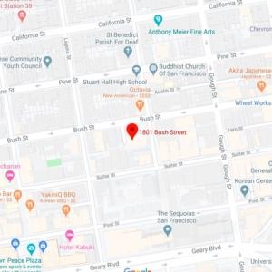 map of San Francisco 94109